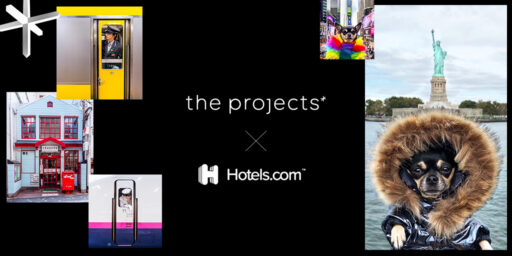 the projects* for Hotels.com