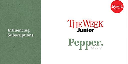 Pepper Studio & Dennis Publishing: The Week Junior Influencing Subscriptions